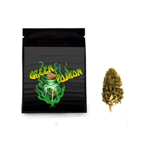Cannabis light cbd erba legale green poison