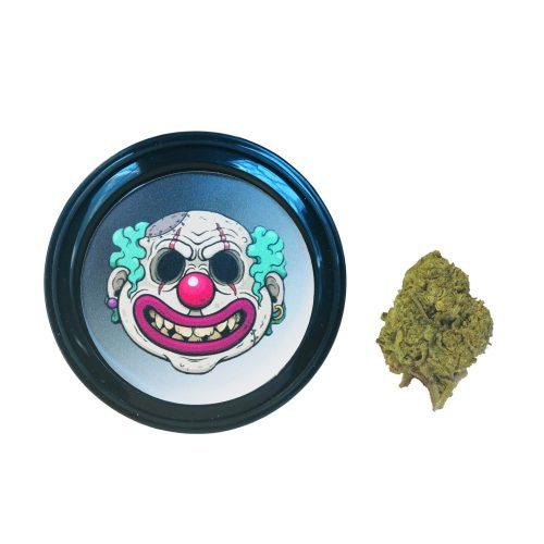 Cannabis light, cbd, erba legale, zombie kush, tins
